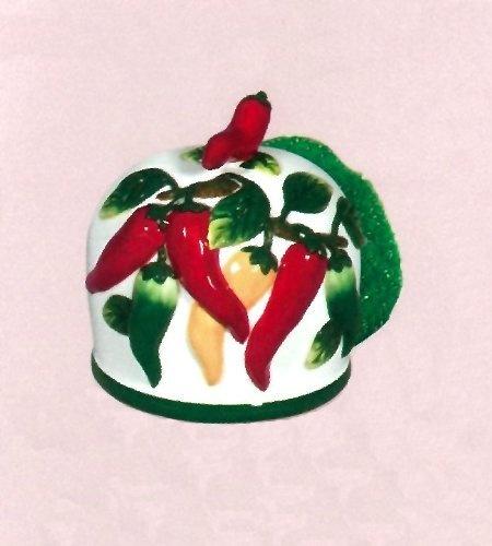 Chili Clock Kitchen Pepper Wall