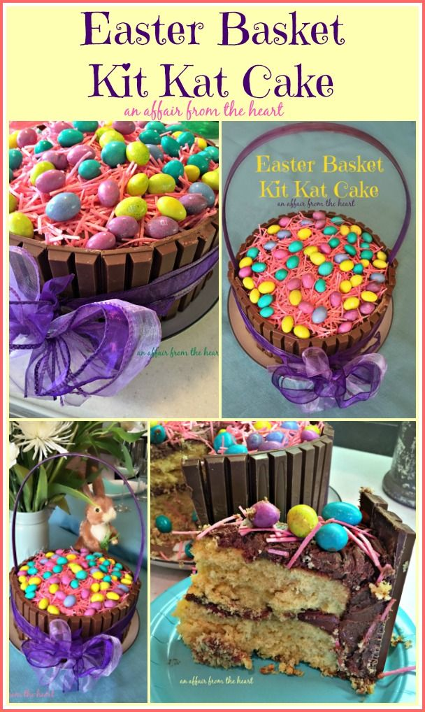 Easter Cakes Kit Kats
