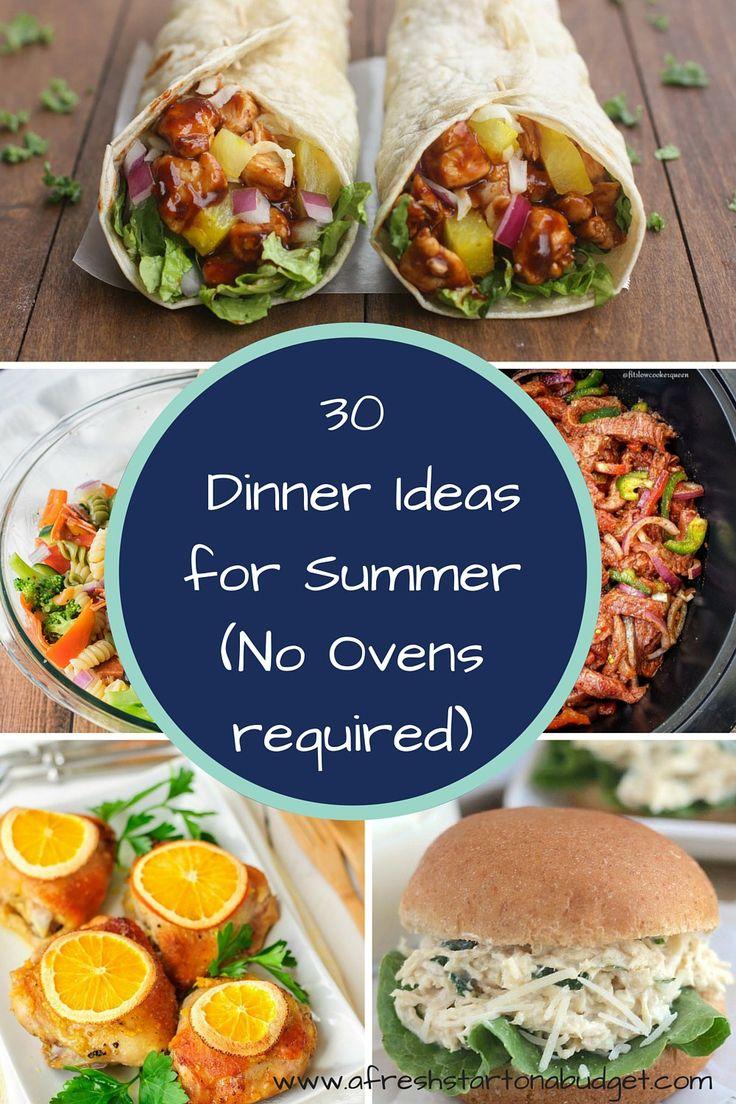 Some Good Dinner Ideas