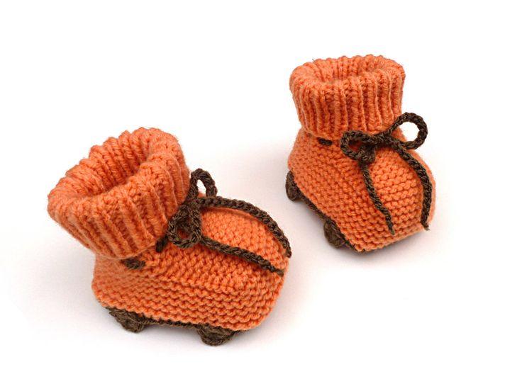 Knitted Roller Skates Pattern