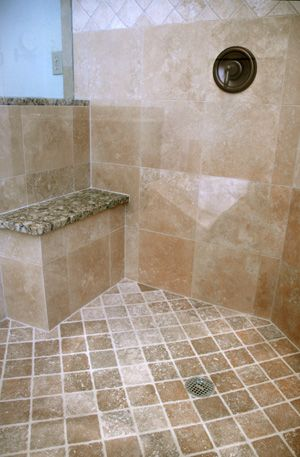 1000 Images About Shower Bench On Pinterest Stone