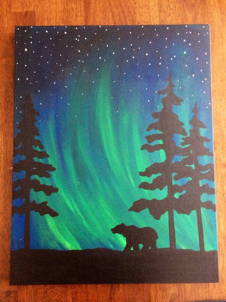 25+ best ideas about Easy canvas art on Pinterest   Flower ...