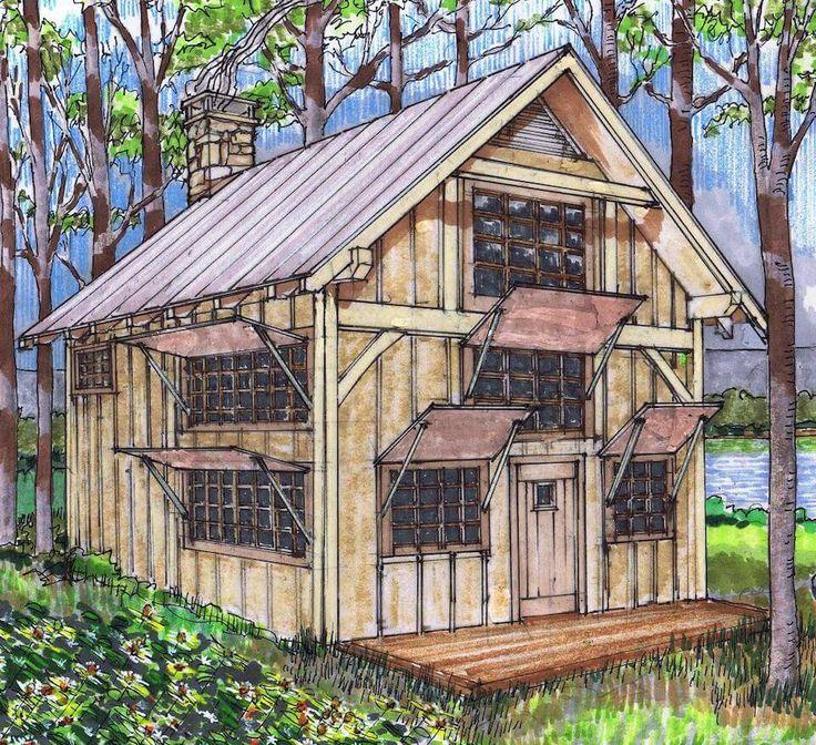 Building Simple Log Cabin