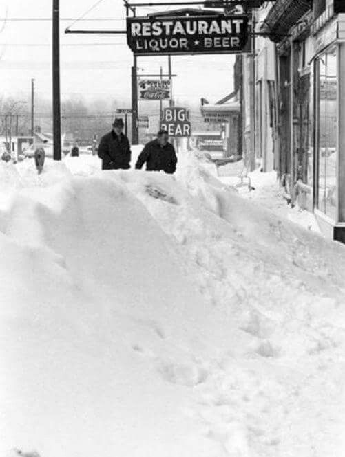 Blizzard Ohio Columbus 1977