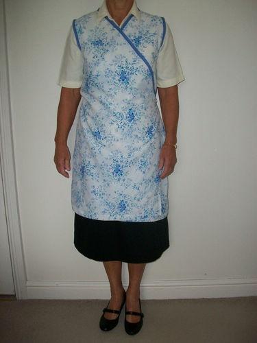 Vintage 40 S Style Hilda Ogden Nora Batty Wrap Around