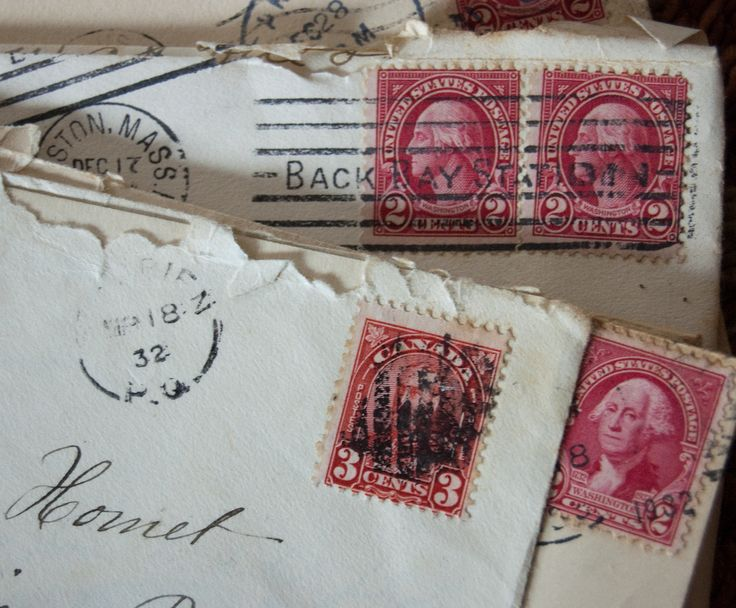 Old Fashioned Border Envelope French