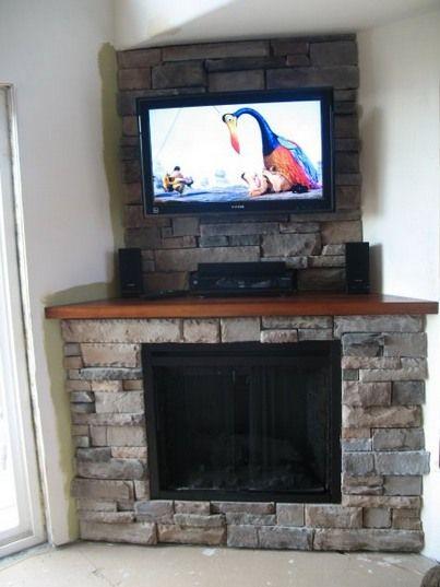 Fireplace Arrangement Living Corner Ideas Room