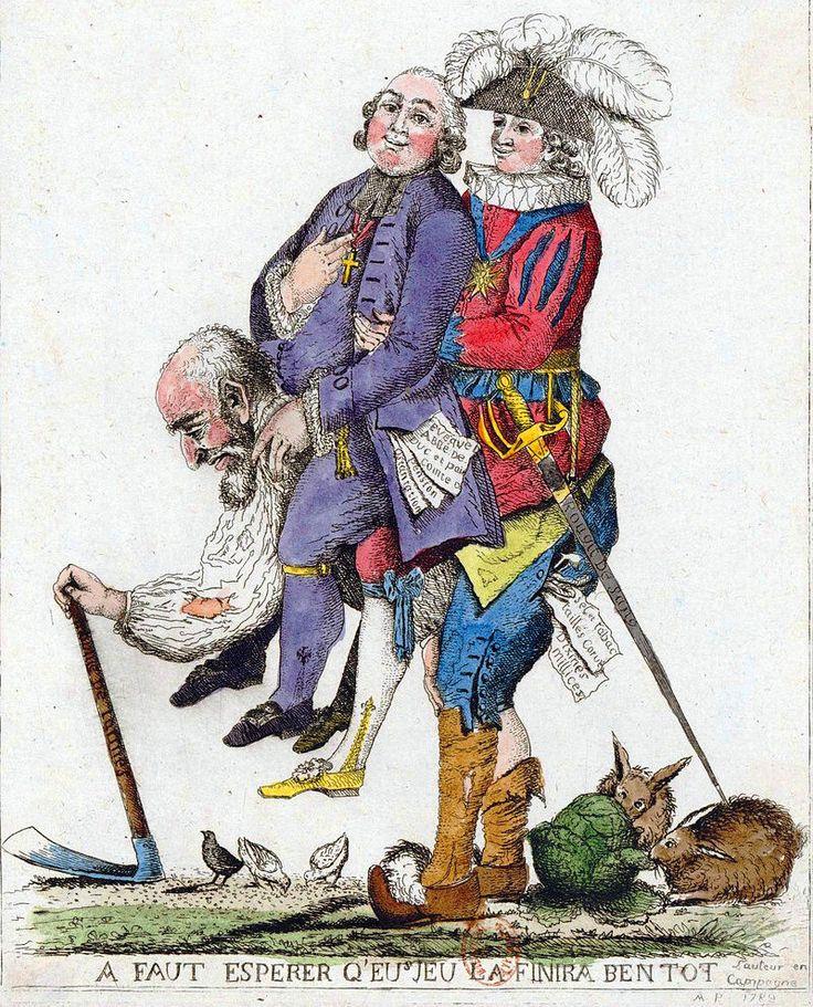 Napoleon French Revolution Political Cartoon