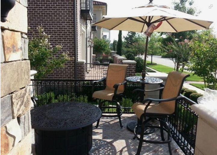 Yard Art Patio And Fireplace