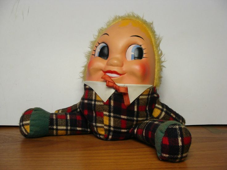 Dolls Knickerbocker Plush