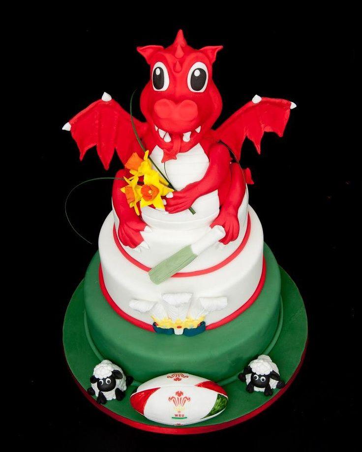 Rectangle Birthday Cakes Decorated