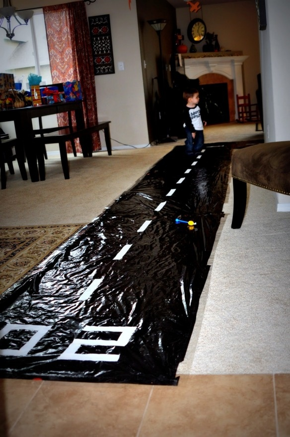 Making A Runway For Your Little Guests Bday Airplane