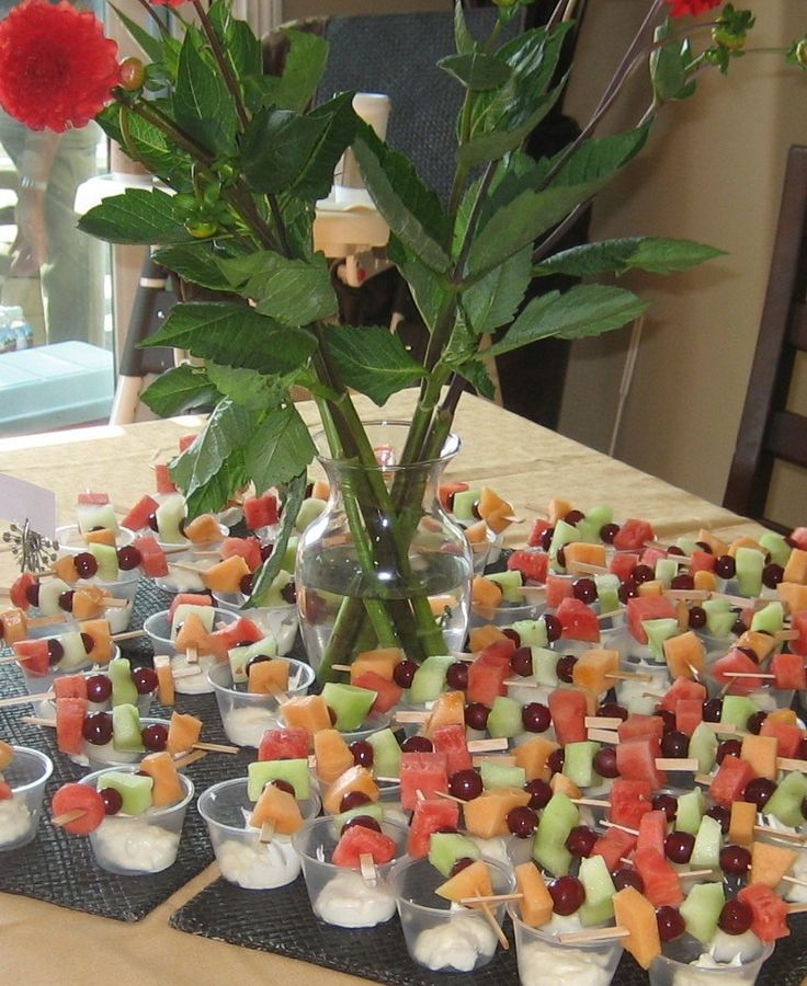 Fruit Cup Ideas Birthday Party