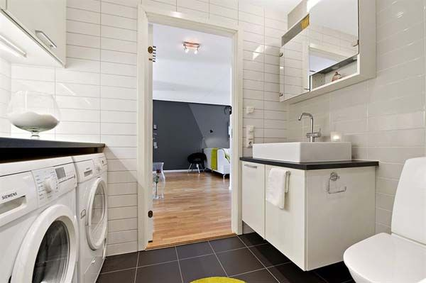 clever idea for combining the laundry room with the master ...