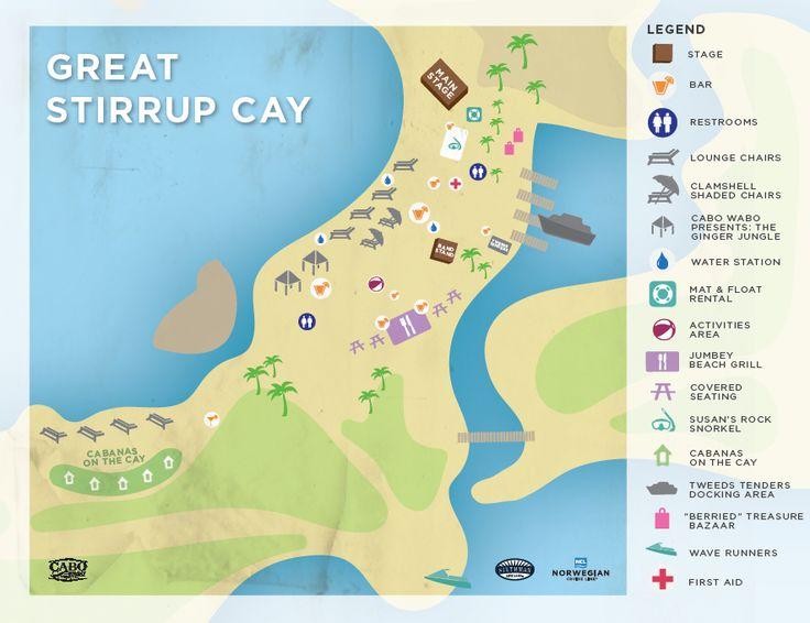 Map Cruise Ship Destinations