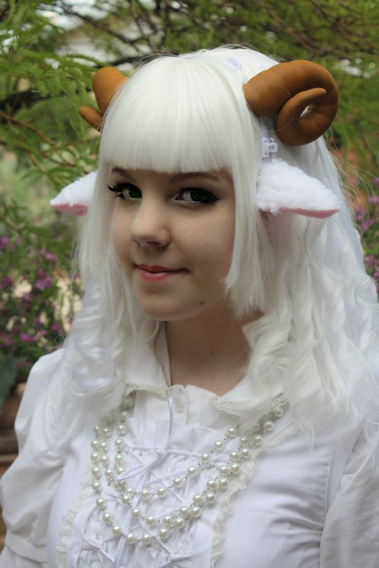Make Costume Sheep Ears