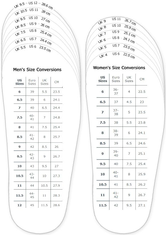 Adidas Measurement Chart