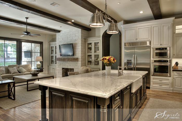 Large Open Kitchen Floor Plans