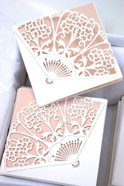 Art Cut Wedding Invitations Deco Laser