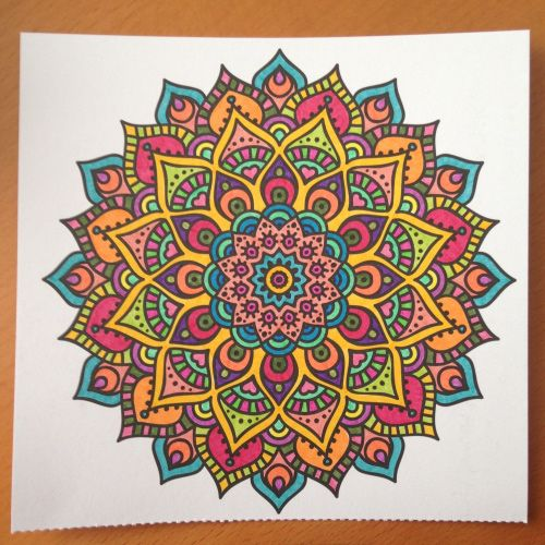 Colorama Coloring Book Flowers Paisleys