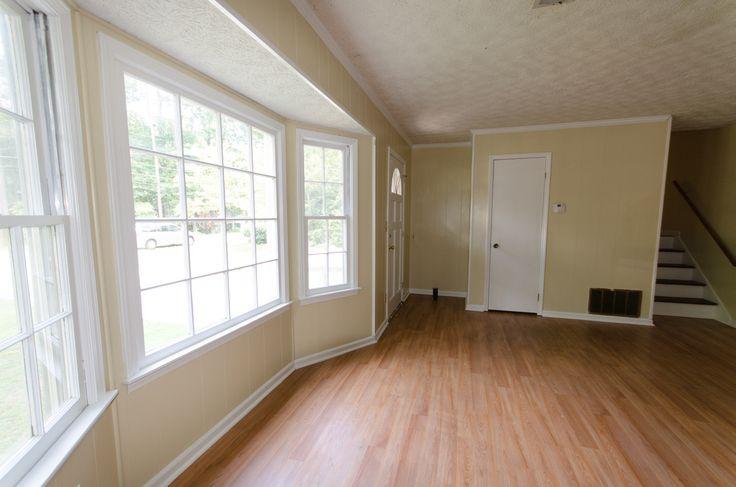 Bay Window Sherwin Williams Netsuke Wood Flooring Family
