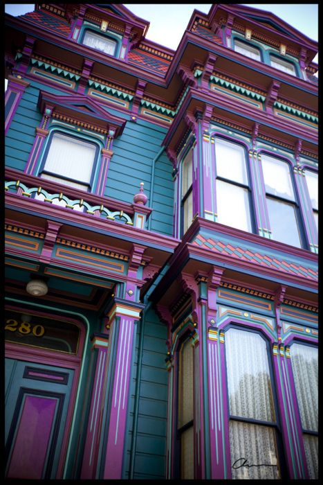 Love Those Victorian Painted Ladies Victorian Style