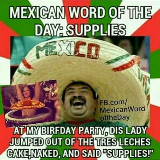 Day Mexican Budweiser Word