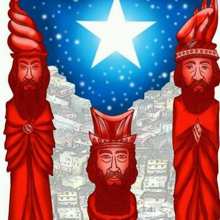 Magos Reyes Boricuas Tres