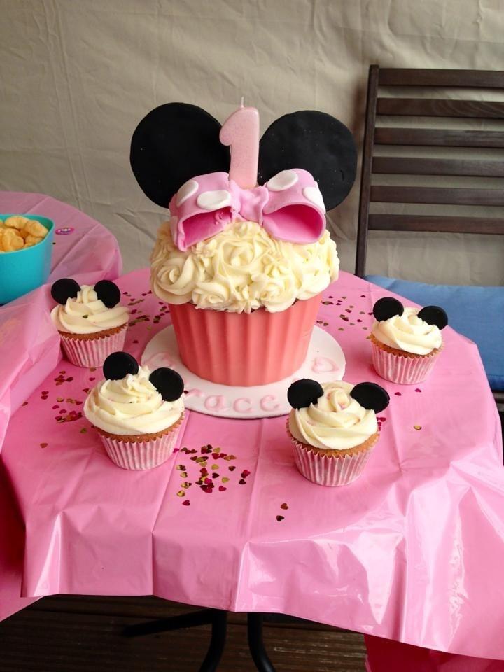 Baby Birthday Cupcakes