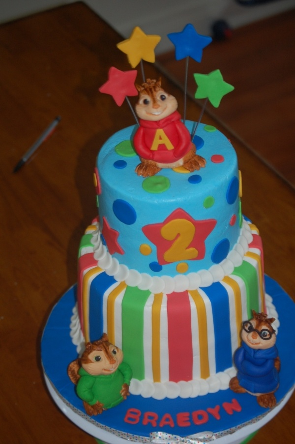 Alvin And The Chipmunks Cake Cake Ideas Pinterest