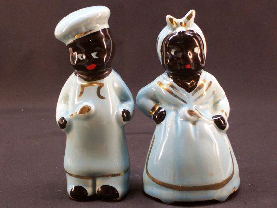 Man And Pepper Woman Shakers Salt Dutch And