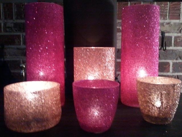 1000 Ideas About Glitter Candles On Pinterest Glitter