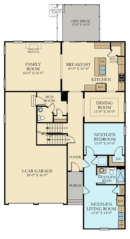 Lennar Next Gen Floor Plans