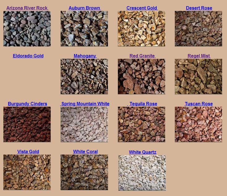 Landscape Gravel Types