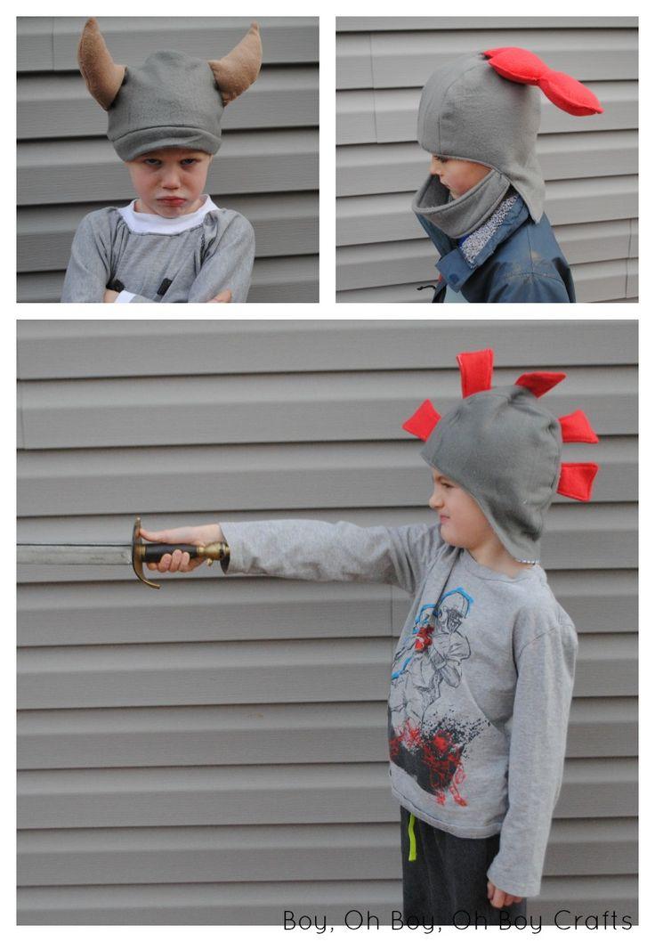Knight Fleece Hat Sewing