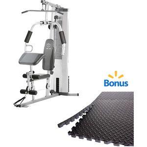 Gold S Gym Xr45 Home Gym With Bonus 6 Piece Puzzle Mat