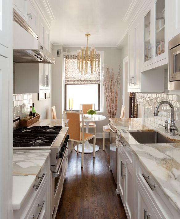 Galley Kitchen Designs Pinterest