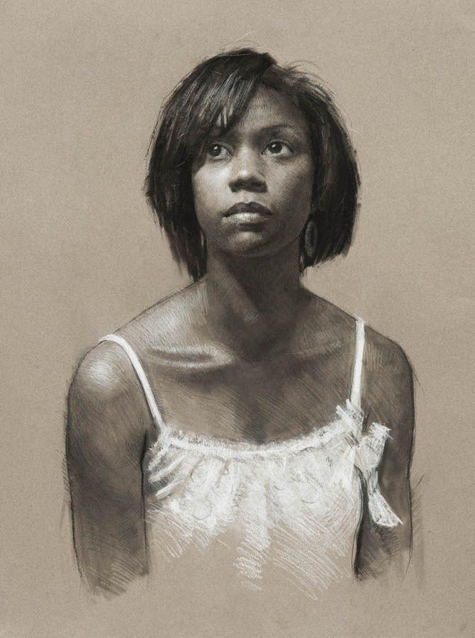 American Stern African Female