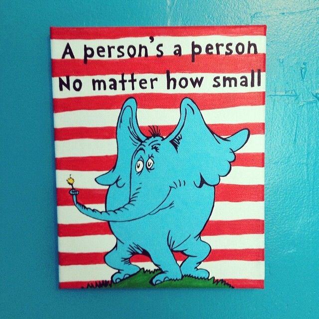 Dr Seuss Horton Hears Who Katie