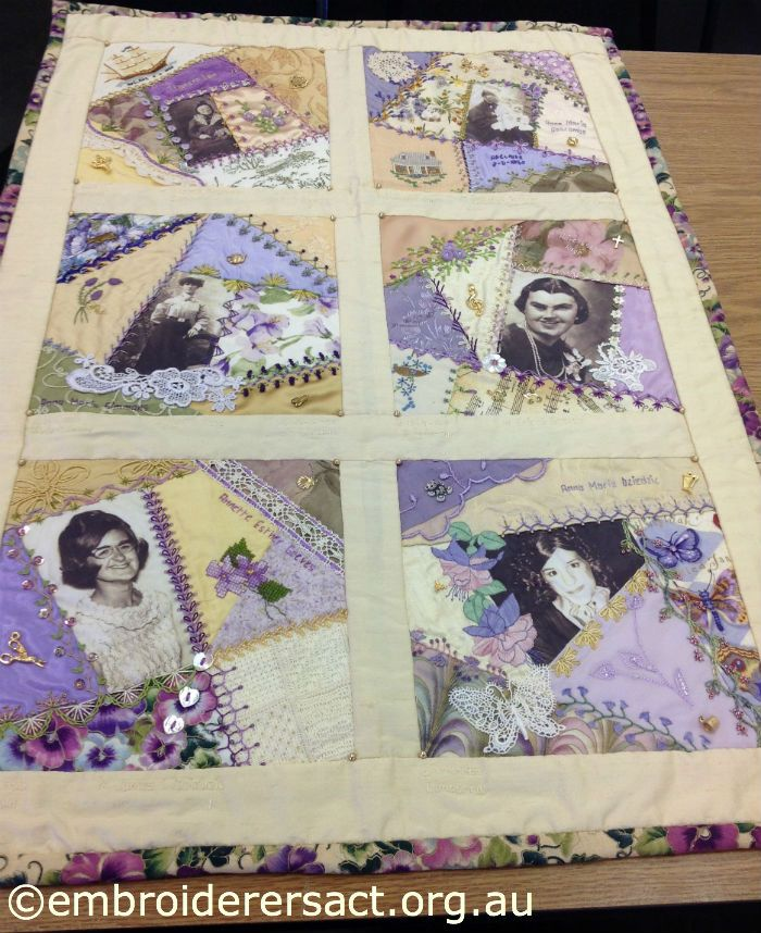 Memory Quilt Block Ideas