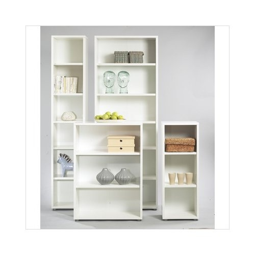 Open Tall Narrow Bookcase