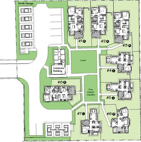 Greenwood Avenue Site Plan Shoreline Wa Site Size