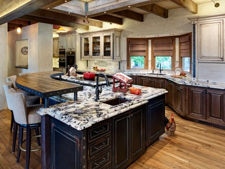 Island Granite Kitchen Top Crosley