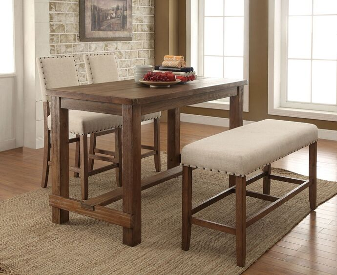 High Bench Dining Table
