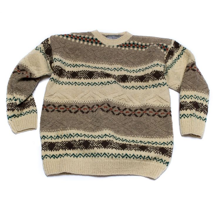 Austrian Boiled Wool Men Sweaters