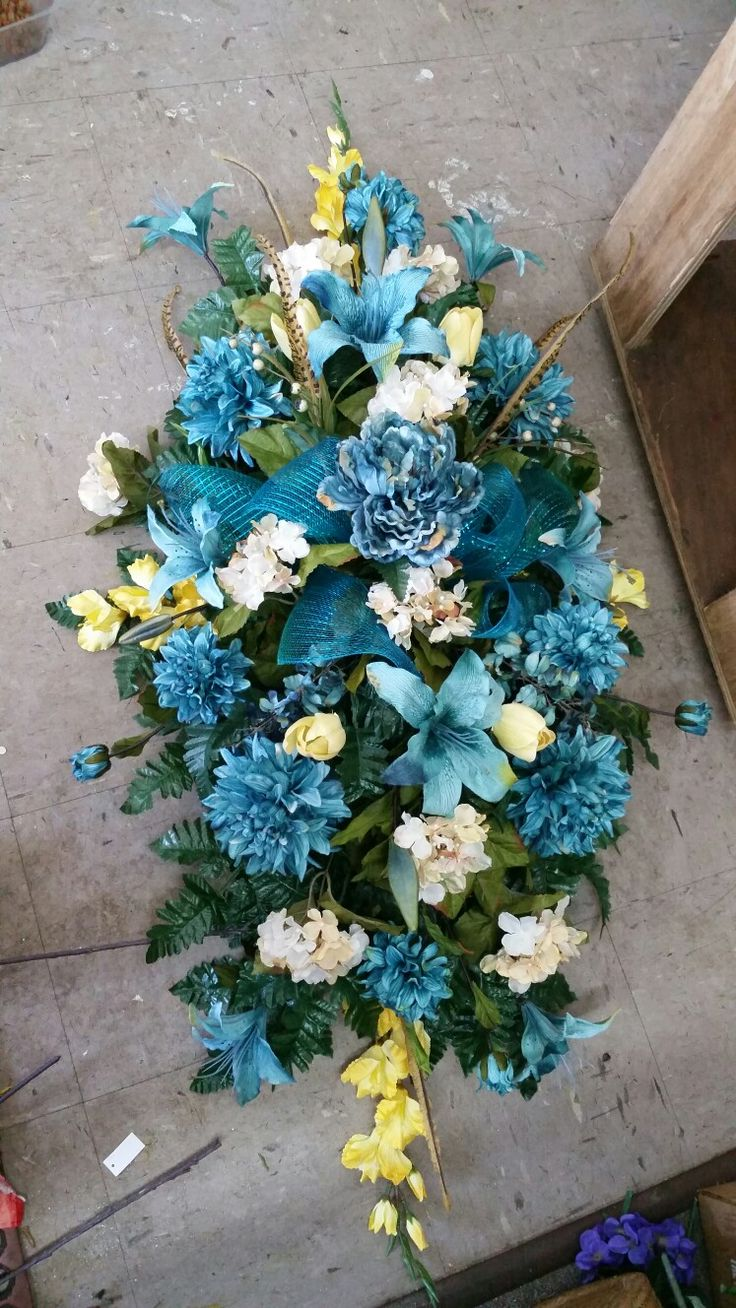 Grave Flower Arrangements Baby Boy