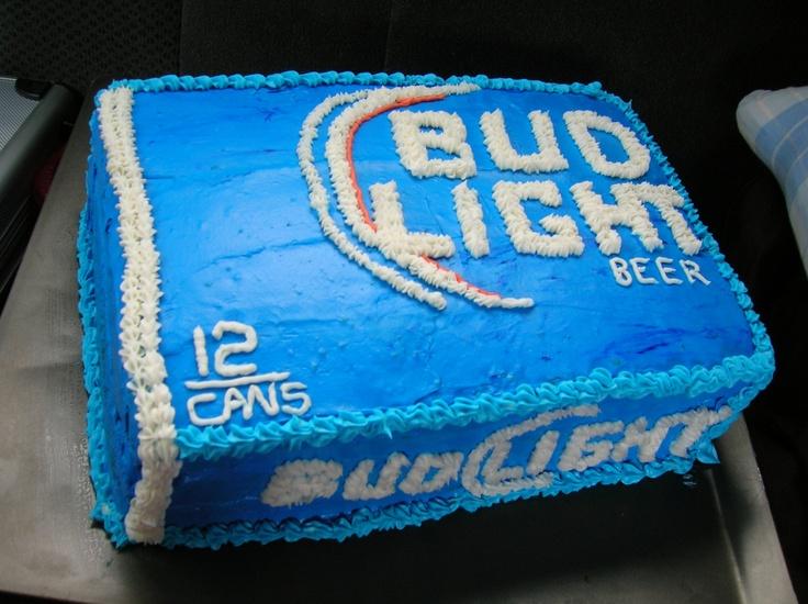 Bud Light Cake Cakes I Ve Made Pinterest Bud Light