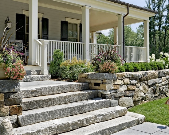 Raised Porch Front Ideas Landscaping