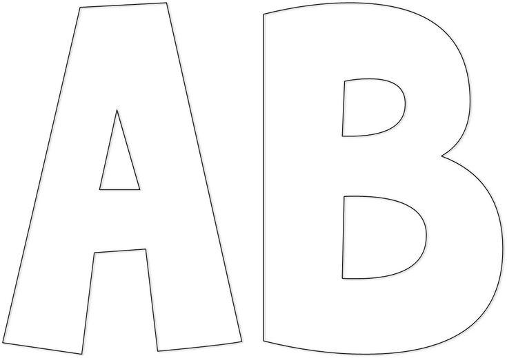 Moldes Letras Para Carteles De