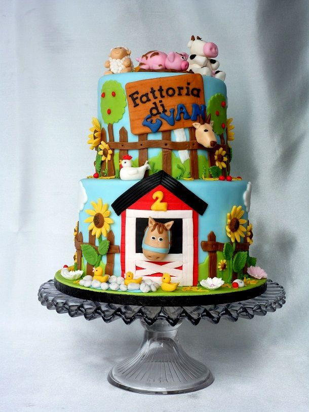 1000 Images About Farmyard Cakes On Pinterest Farm Cake